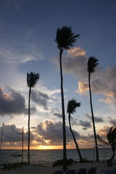 Sunrise in Dominican Republic Punta Cana