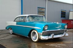 56 Chevy.. Always loved the Bel Air