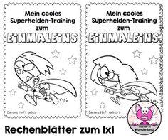 Teacher In Wonderland: Rechenblätter zum Einmaleins