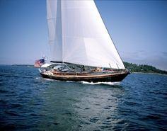 Lyman Morse Boatbuilding - Windwalker II - Thomaston, Maine