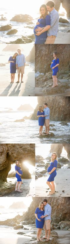Dreamy maternity photos on the beach in Malibu. Maternity Photo Session at the Beach | California #maternityphotographer | Camarillo | Thousand Oaks | Westlake Village | Agoura Hills | Ventura County #beachphotographer #californiaphotographer malibuphotographer