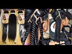 #194. Stitch Braids 4 BEGINNERS - YouTube