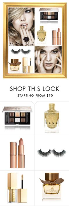 """""""Golden girl"""" by maddy0428 on Polyvore featuring beauty, Givenchy, Charlotte Tilbury, Stila, Burberry, gold, Beauty and JAWDROPPING"""