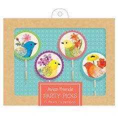 Avian Friends Party Picks from Galison