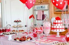 tema festa infantil valentines day - Pesquisa Google