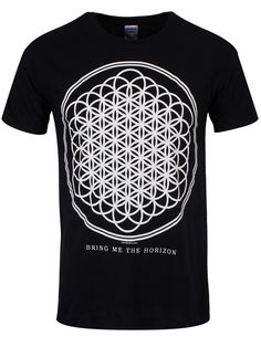 Bring Me The Horizon Sempiternal Men's Black T-Shirt - Offical Band Merch - Buy Online at Grindstore.com