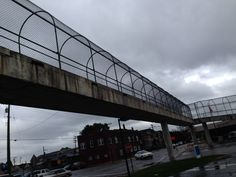 Another shot of the now-closed bridge in East Chicago, Ind. #InvestinUS