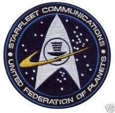 Star Trek Starfleet Communications UF of Planets Patch (Ebay, 2014)