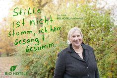 Ute Heck, Gastgeberin von Biohotel Forellenhof