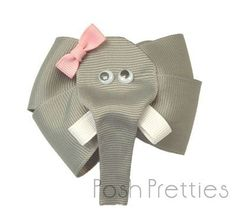 This elephant hair bow from etsy.com