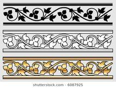 Victorian Style Design Scroll (Vector)