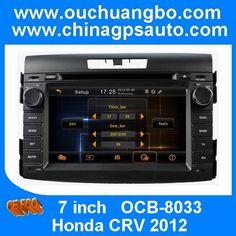 Ouchuangbo Car DVD GPS Central Multimedia Head Unit Honda CRV 2012 http://www.ouchuangbo.com/en/ProItem.aspx?id=1052&classlist=106.113.