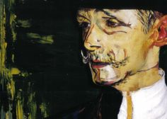Chris Channing living painting 'Toulous Lautrec'