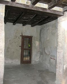 Half-timbered House-Ercolano View of the Interior.