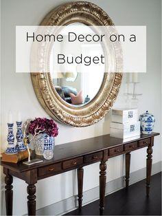 Home Decor on a Budget   ModMoney