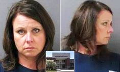 Carrie Witt, a teacher in Decatur, Alabama, was charged on Monday with two counts of a school employee engaging in a sex act or deviant sexual intercourse with a student under the age of 19.
