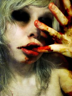 theres too much zombie love in Faiths heart. I plan on getting a tattoo of Faith hugging a zombie to death. Its a Zombie Thing Scream, Creepy, Scary, Horror Photos, Zombie Art, My Demons, Dark Places, Ganja, Horror Art