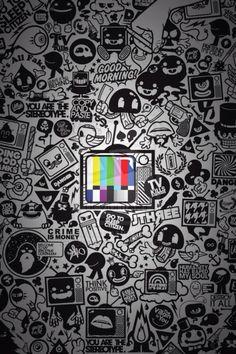 Tv iphone wallpaper