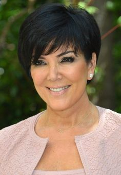 Short Hair Styles For Women Over 50 | 2013 Short Haircut for Women Over 50: Kris Jenner Short Black Haircut …