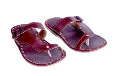US 10 mens slippers coffee leather slippers shoes handmade leather sandals   eBay