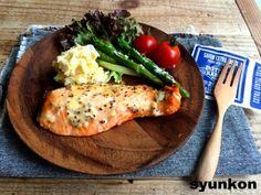 【簡単!!】鮭のマヨマスタード焼き