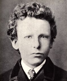 VINCENT VAN GOGH @ age 13 _____________________________ Reposted by Dr. Veronica Lee, DNP Depew/Buffalo, NY, US