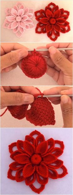 Heavenly FLOWER CROCHET PATTERN IDEAS FOR This Winter 2019 Part crochet flowers; crochet flowers for hats; crochet flowers easy Source by sunluvnblond Irish Crochet Flower - I'd like 20 in different colors and sizes for my apartment please kthxbai Irish Beau Crochet, Crochet Puff Flower, Crochet Flower Tutorial, Crochet Motif, Crochet Designs, Crochet Flowers, Crochet Stitches, Crochet Doilies, Crochet Baby