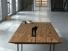 What's that hole on the table? by Roberto Dada, via Behance