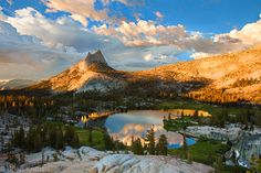 Cathedral Lakes, Yosemite National Park, California, USA.  Landscape photography by Brian Knott.