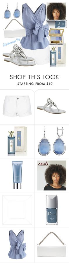 """""""🍝🍷"""" by sexyshonda ❤ liked on Polyvore featuring Tory Burch, Bulgari, Orlane, Christian Dior, Chicwish, Vetements and Estée Lauder"""