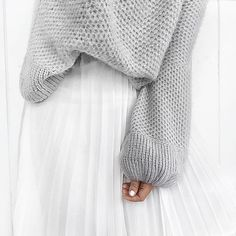 Loving over sized knits this winter    I always opt for a large for that comfy…
