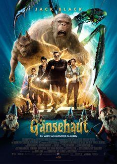 gänsehaut film | Filmplakat: Gänsehaut - Du wirst an Monster glauben (2015 ...