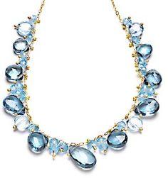Topaz Organic Necklace