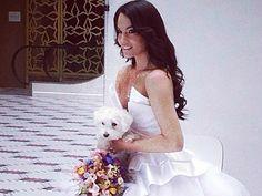 Gyönyörű menyasszony Debreczeni Zita http://www.nlcafe.hu/sztarok/20140326/debreczeni-zita-menyasszonyi-ruha-fotozas-modell-/