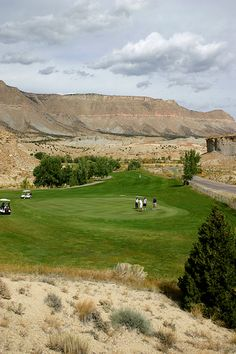 Millsite Dam Golf Course  - 18 hole course in  east central town of Ferron, Utah