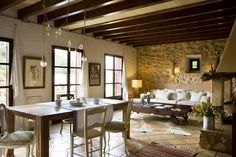 can't help but daydream of rest and relaxation in this serene, charming, and unique retreat in the Mallorca countryside . . .