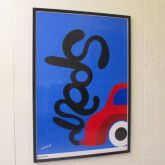 Framed Original Vintage 'Spar' (Save) Poster by Per Arnoldi (100x70cm) $390   available at www.grandfathersaxe.com.au
