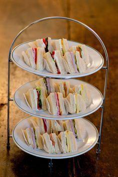 Verschiedene herzhafte Sandwiches