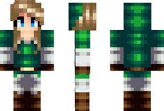 RosieKitty Fanskin Redo Now With Speedpaint Minecraft Skin - Skins para minecraft pe zelda