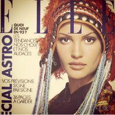 Supermodel Claudia Mason - Elle Magazine