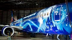 Painting the WestJet Magic Plane - A 30 Day timelapse. I set the camera to take 1 picture every 30 min for 30 days. Still am so happy that nobody bumped the camera and am surprised that there was no problems like the camera stopping.