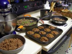 What to do with 12 Pounds of Ground Beef - meatloaves, meatballs, sloppy Joe, Chili, cheeseburger pie, taco bake