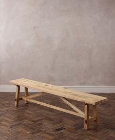 "IKEA NORDEN Bench, birch 59"""