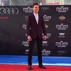 Tom Holland at the Captain America: Civil War premiere