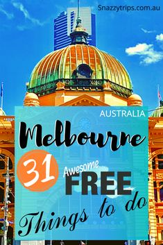 31 Free Things To Do In Melbourne 48 World Travel Guide, Travel Tips, Budget Travel, Travel Ideas, New Zealand Itinerary, New Zealand Travel, Australia Travel Guide, Visit Australia, Melbourne Travel