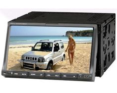 2 Din Car DVD Player with Touch Screen, Bluetooth