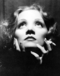 """still taken on the set of the Von Sternberg- Dietrich films at Paramount in the early 1930s, """"Shanghai Express"""