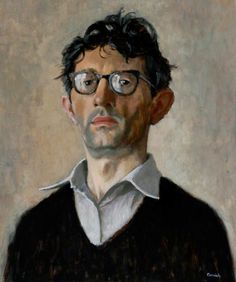 Norman Stansfield Cornish(1919- ), self portrait. Oil on board, 61 x 51 cm. Northumbria University Gallery