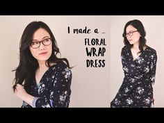 I made a Japanese wrap dress | #sewwithgerry - YouTube