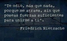 Image uploaded by Mecanic Angel☾. Find images and videos about love, phrases and vida on We Heart It - the app to get lost in what you love. Friedrich Nietzsche, Nietzsche Frases, Movie Quotes, Book Quotes, Life Quotes, Cool Words, Wise Words, Smart Quotes, Inspiring Quotes
